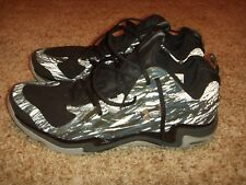 Under Armour 1248416-012 Micro G Charge Volt Black Basketball Shoes Mens Size 14