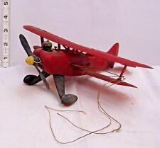 COX RED BARON LIL STINKER BI-PLANE GAS POWER AIRPLANE 1960s