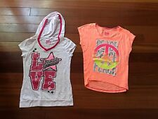 Two Girl's Justice shirts- size 12