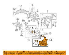 HONDA OEM 08-12 Accord Air Cleaner Intake-Resonator Duct Tube Hose 17230R40A00