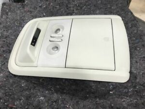 FORD TERRITORY SX SY ROOF CONSOLE SUNGLASSES COMPARTMENT WITH CLOCK