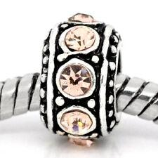 November Birthstone Spacer Bead Charm for european snake chain charm Bracelet