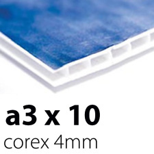 10 x Correx Sign Boards | 4mm A3 | Printed UV Full Colour