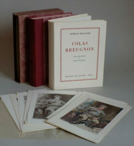 Romain ROLLAND - Colas Breugnon - illustré par Louis CLAUSS. 1/200 Double suite