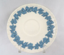 Wedgwood England Queens Ware Lavender Blue on Cream Saucer Only ~ Excellent