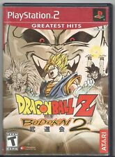 Video Game - SONY PLAYSTATION 2 - DRAGON BALL Z BUDOKAI 2 - Complete Red Label