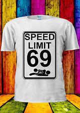 Speed Limit 69 Sex Position Funny T-shirt Vest Tank Top Men Women Unisex 1862