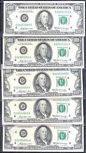 1969A $100 FRN-GEM-CLEVELAND-RARE