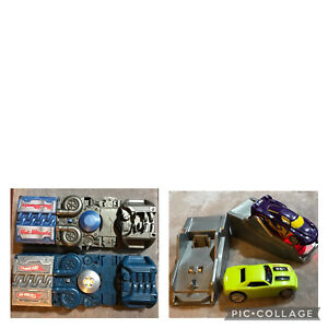 Hot Wheels Power Booster Car Launcher X-V Racers And Charger Lot