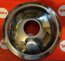 BSA  250cc C15 FRONT WHEEL COVER  STAINLESS  7INCH