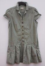 QIERO Damen Kleid Sommerkleid Größe 42 Ärmellos Baumwolle