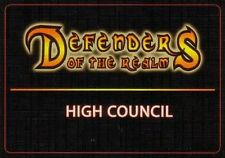Defenders of the Realm: Relics of the Realm & High Council Deck