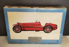 Vintage Pocher 1931 Alfa Romeo 8C 2300 Monza 1/8 Model Kit K/71 Sealed NOS Box