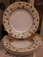 SET OF 4 PFALTZGRAFF SHELBY 10.75 in. dia. DINNER PLATES. Mint, Never Used!
