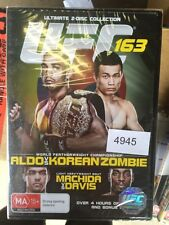 2 Disc Collection - UFC 163 - Aldo VS Korean Zombie BRAND NEW #4945