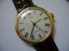 VINTAGE WIND UP TIMEX MARLIN 1977 RUN AND KEEP TIME