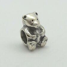 Pandora Sterling Silver Teddy Bear Bead Charm 790395