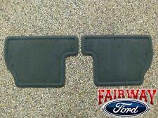 12 thru 14 Focus OEM Genuine Ford Parts Charcoal Black REAR Floor Mat Set 2-pc