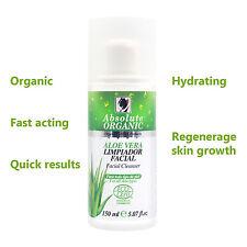 All Natural Organic Facial Cleanser - Anti-Aging Aloe-Vera ultra rich