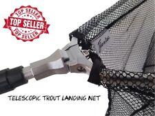 Flextec™ Trout Folding fly fishing landing net with belt clip