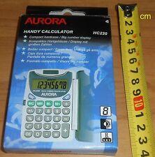 Handy Calculator HC220 Aurora new unused, solar