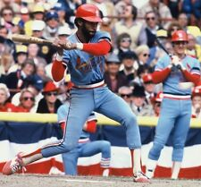 1982 OZZIE SMITH St. Louis Cardinals WORLD SERIES ACTION Glossy Photo 8x10  WOW