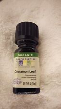 Aura Cacia Organic Essential Oil Cinnamon Leaf 0.25 fl oz (7.4 mL)