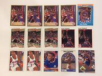 1989-90 HOOPS #250 ISIAH THOMAS NBA DETROIT PISTONS LOT OF 15