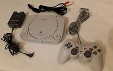 New listing Sony Playstation Psone Ps1 Ps One Console With Controller & Cords!