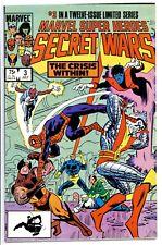 MARVEL SUPER-HEROES SECRET WARS #3(7/84)1:TITANIA & VOLCANA(X-MEN)CGC IT(9.2/9.4