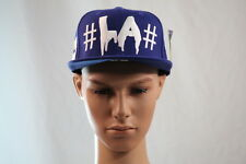 "BEEN TRILL BLUE ""#LA#"" ""MALL RATZ"" ADJUSTABLE/SNAPBACK ONE SIZE FLAT BILL HAT"