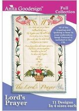 Anita Goodesign Lord's Prayer Embroidery Machine Design Cd New 152Aghd