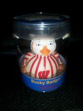 Bucky Badger Wisconsin Celebriduck Rubber Duck NEW in Case