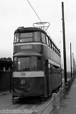 Leeds Corporation Tramcar 501 Cross Gates Terminus Tram Photo