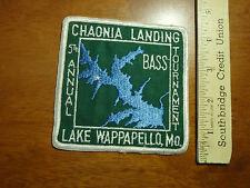 LAKE WAPPAPELLO MO. CHAONIA LANDING 5TH ANNUAL BASS TOURNAMENT    BX 4 #12