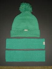 ABERCROMBIE HOLLISTER GREEN GLOVES BEANIE CAP HAT - 909