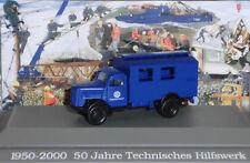 "Roco Miniatur Modell 1669 OPEL BLITZ ""50 JAHRE THW"" 1:87 NEU-OVP"
