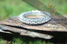 Exzellente Ringe Echtschmuck aus Weißgold mit Brilliantschliff für Damen