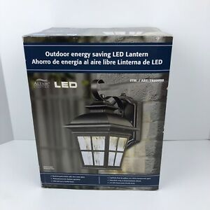 Altair Lighting LED Outdoor Lamtern Al-2165 Brushed Patina Automatic Dusk Dawn