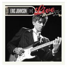 Eric Johnson : Live from Austin, Tx CD (2011) ***NEW***