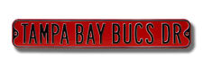 Tampa Bay Buccaneers Drive Heavy Duty Street Sign