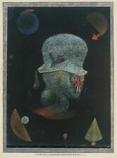 Paul Klee Reproduction: Astrological Fantasy Portrait - Fine Art Print