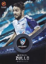 Sydney FC 2016-2017 Season Soccer Trading Cards