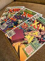 Uncanny X-Men 151 154 156 Bronze Age Marvel Wolverine lot run key
