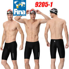 YINGFA 9205-1 MEN'S RACING TRAINING JAMMER SWIMMING TRUNKS XL Sz30 FINA APPROVED