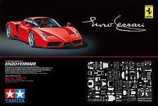 F/S New Tamiya 1/12 Big Scale Series Enzo Ferrari 12047 Assembly Kit Models