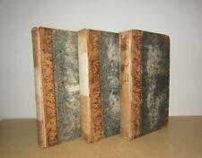 Dante Alighieri - La Divina Commedia (Divine Comedy) - 3 Vols Parigi 1818 - 1819