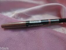 IsaDora LIP DUOstick & liner in Rosewood 55  .04 oz and .009 oz look new