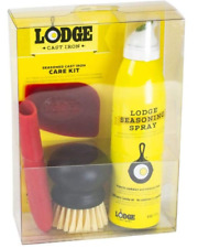Lodge Seasoned Cast Iron Care Kit 5-Piece One Size Assorted