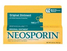 Neosporin Original First Aid Antibiotic Ointment 0.5 oz